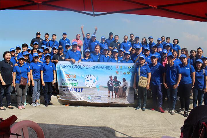 City Service Corporation joins International Coastal Cleanup 2018